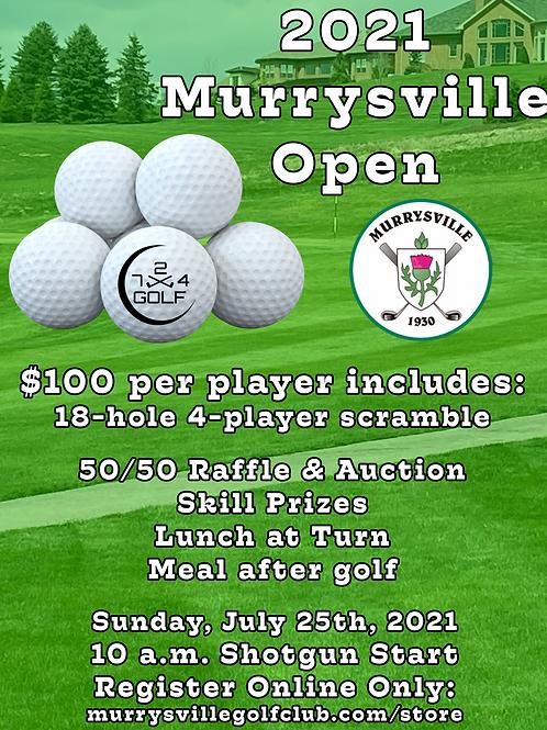 2021 Murrysville Open - Registration