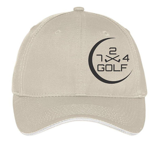 724 Golf 6-Panel Hat - Oyster