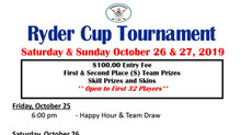 SIGN UP FOR OUR RYDER CUP EVENT!