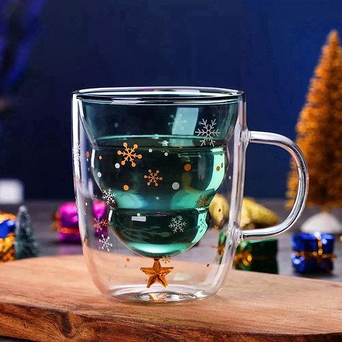 Christmas Double Walled Mug