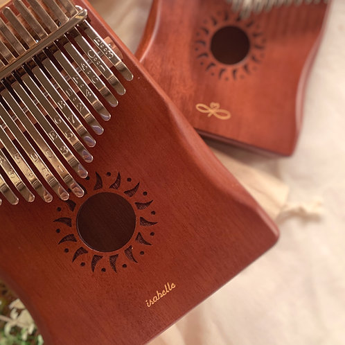 Dark Brown Kalimba