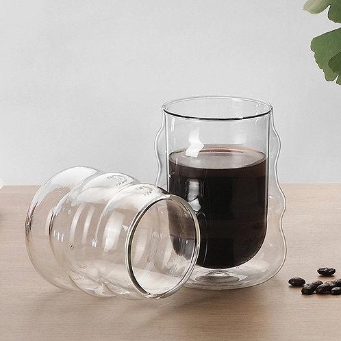 Ripple Double Walled Glass