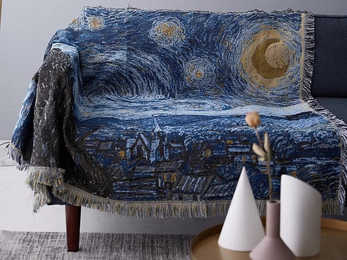 Starry Night Woven Blanket
