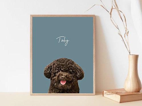 Customized Pet Portrait
