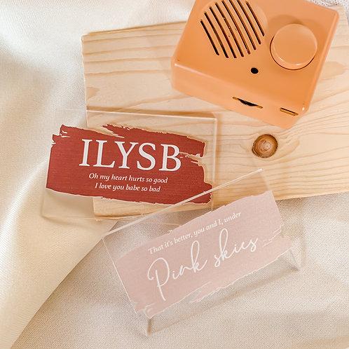 Sound Cube: ILYSB - Lany