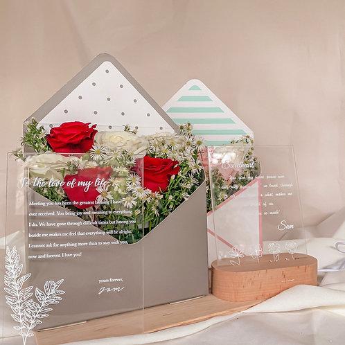 Envelope Rose Bouquet