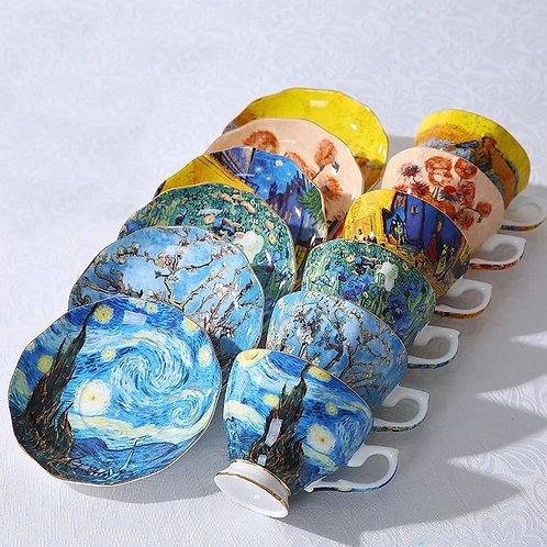 Van Gogh Teacup Set