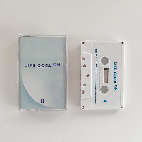BTS Life Goes On Cassette Tape