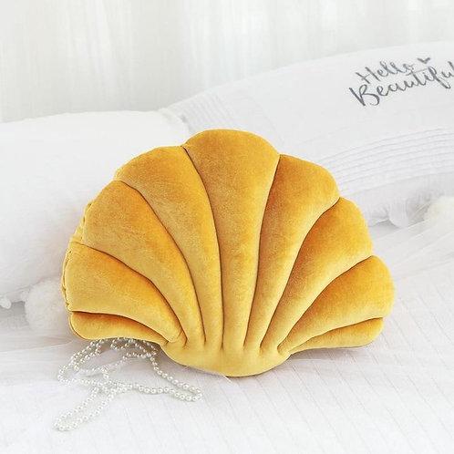 Mermaid Shell Pillow