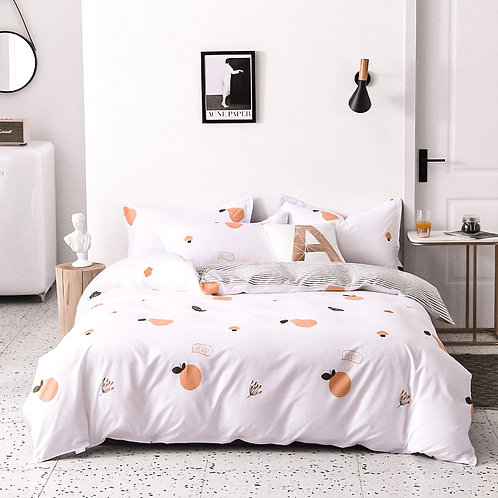 Apricot French Linen Set