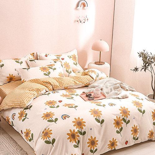 Sunflower French Linen Set