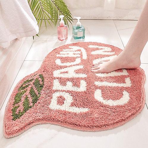 Margot Peach Bathroom Rug