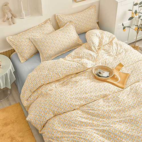 Persimmon French Linen Set