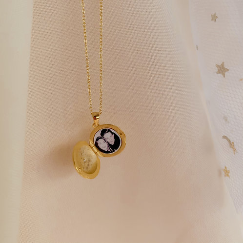 Northern Star Locket Necklace