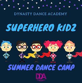 Yellow Illustrated Kids Superhero Invita