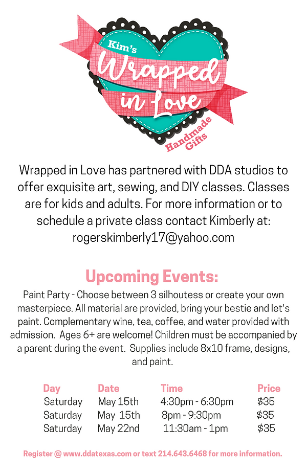 Wrapped in Love has partnered with DDA s