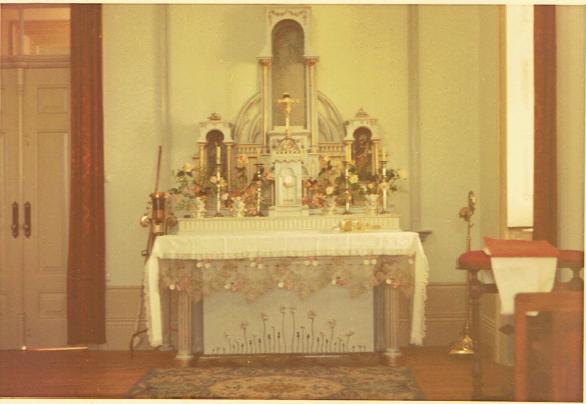 Altar da Capela/Coro