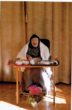 No dia dos seus 90 anos