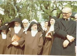 Com algumas Irmãs fundadoras