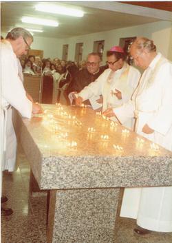 Bênção e sagração do Altar