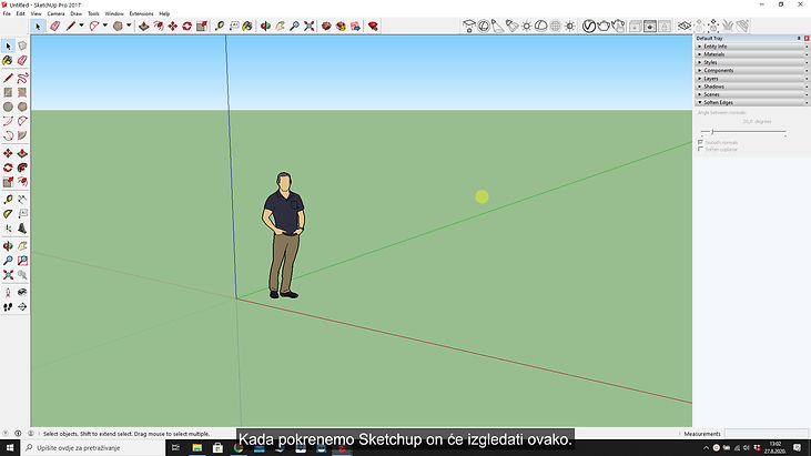 Lekcija 1 video 1-sketchup