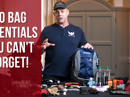 How to make a Bug Out Bag or a 72 hour bag
