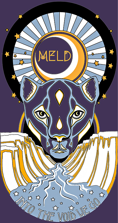"MELD ""Eyes Like A Cat"" Poster"