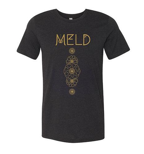 """MELD """"Desert Flower"""" V-Neck T-Shirt"""