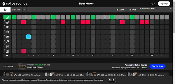 Beat Maker - Make Your Own Beat on Splic