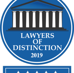Michael T. Scott Recognized by Lawyers of Distinction for 2019.