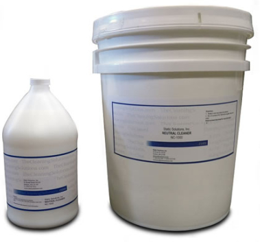 Ohm-Shield™ Neutral Cleaner Used After Stripping Floor