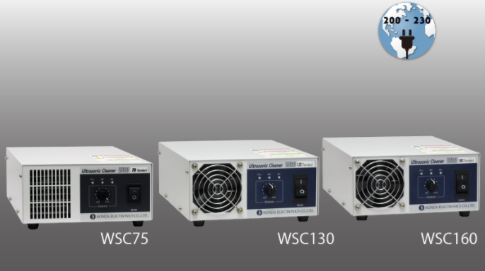 WSC75 / 130 /160   Medium frequency ultrasonic cleaner