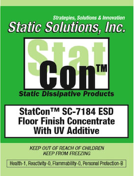 StatCon™ ESD Floor Finish Concentrate With UV Additive