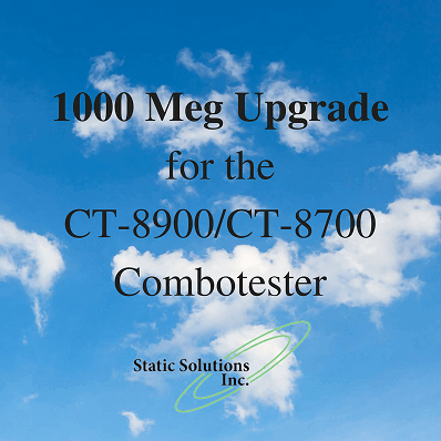1000 Meg Upgrade For The CT-8700 And CT-8900 Combotesters