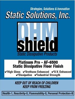 Ohm-Shield™ – Platinum Pro Dissipative Floor Finish