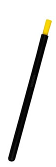 35697 - Dissipative Nylon Brush, Round Handle, 6""