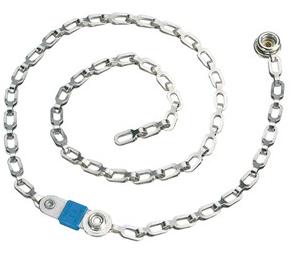 14000 - Conductive Drag Chain, 1 Megohm Resistor, 7mm Socket, 24 IN Long