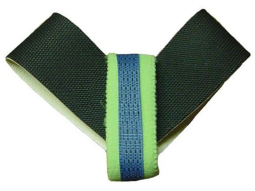 Ohm-Stat™ Heel Grounder With Elastic Velcro