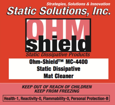Ohm-Shield™ Dissipative Mat Cleaner