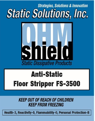 Ohm-Shield™ – Floor Finish Stripper 4:1 Concentrate