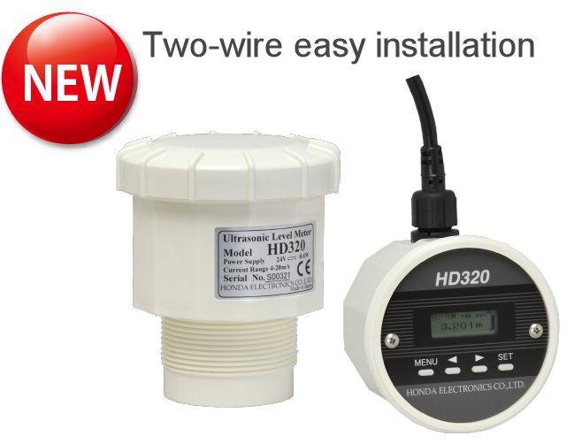 HD320 | Ultrasonic Level Meter|Easy two-wire installation