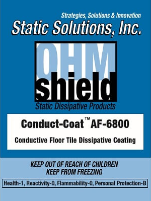Ohm-Shield™ Conduct Coat for Conductive Flooring