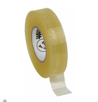 """81220 - Wescorp Antistatic Cellulose Tape, Clear, 1/2"""" x 36 YDS w/ 1"""" Paper Core"""