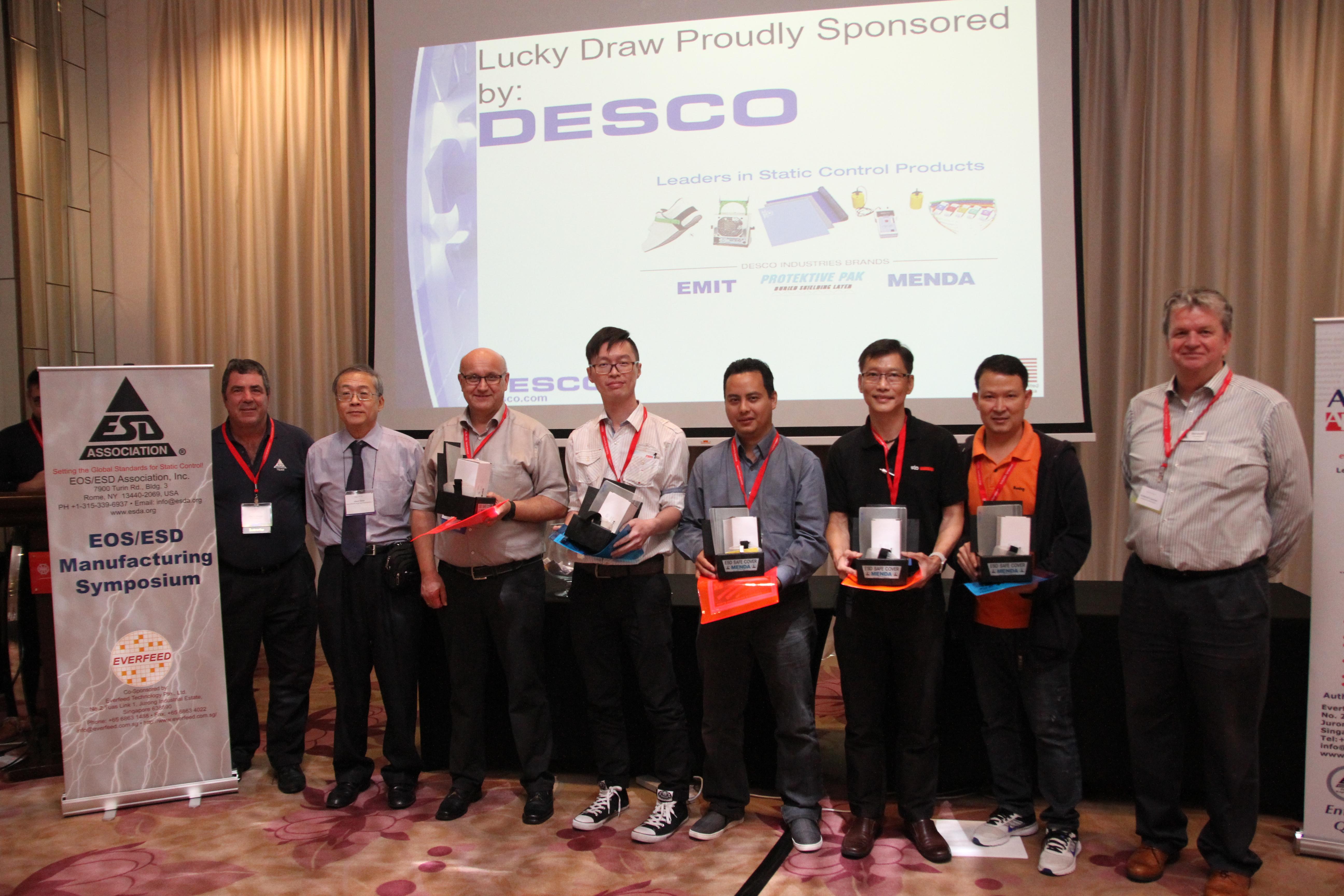 Desco Lcucky Draw Winners