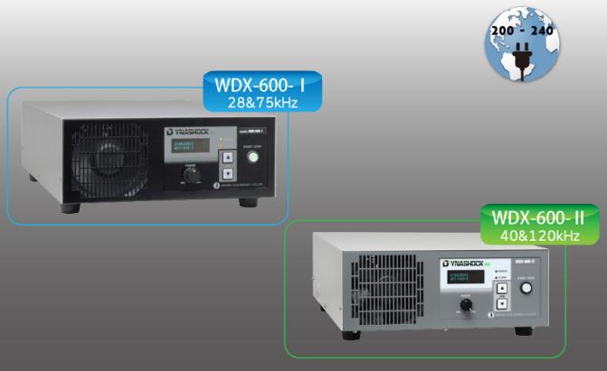 """WDX series   Digital """"DYNASHOCK"""" ultrasonic cleaner WDX-600-I / WDX-1200-I / WDX"""