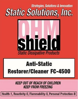 Ohm-Shield™ – Floor Cleaner for Ohm-Shield™ ESD Floor Finishes, 10:1 Concentrate