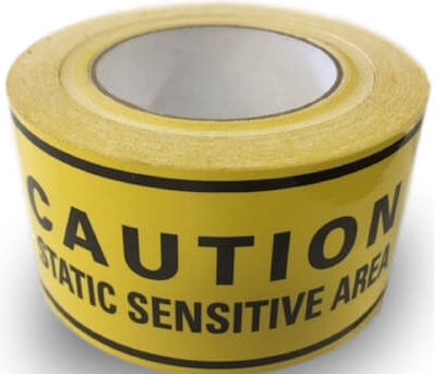 Ohm-Stat™ ESD Sensitive Aisle Warning Tape