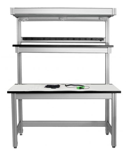 Workbench 3 With Ultimat 1, Wrist Strap, Ground Cord And Shelf Plus 96″ Rear Upr
