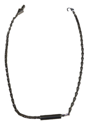 Ohm-Stat™ 24″ Stainless Steel Drag Chain With Cylinder Rolling Carts And Chairs