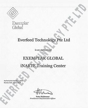 Exemplar Globar-iNarte Training